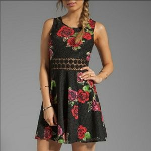 Free People Vampire Diaries Daisy Chain Dress Sz 8